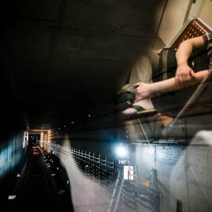 Train tunnel, Singapore