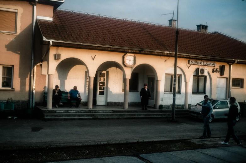 Lazarevac station, just outside of Belgrade