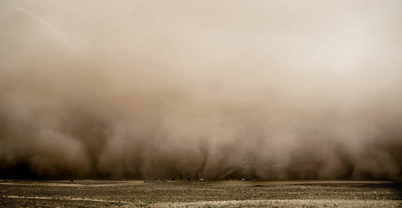 Sandstorm scapes