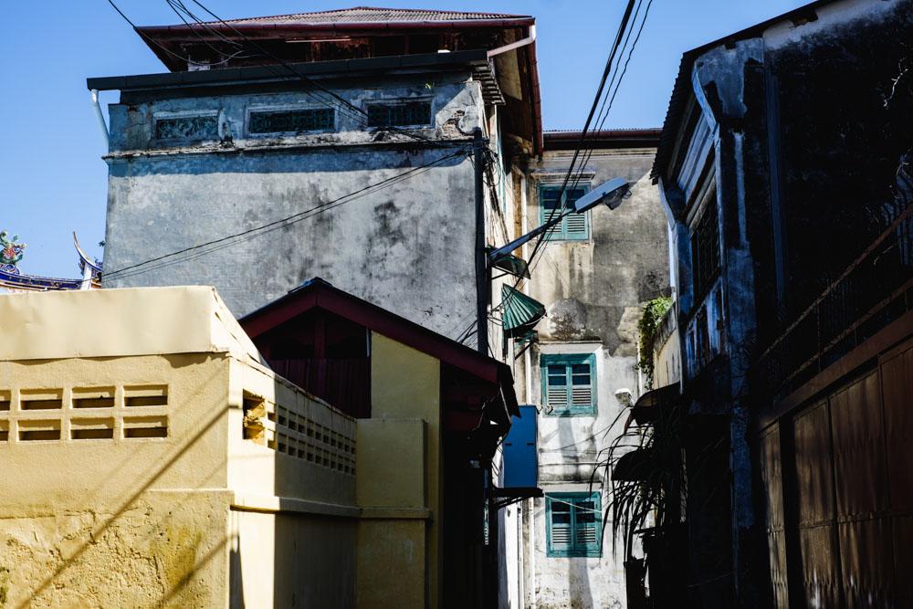 An alley off Armenian St. Georgetown, Penang.