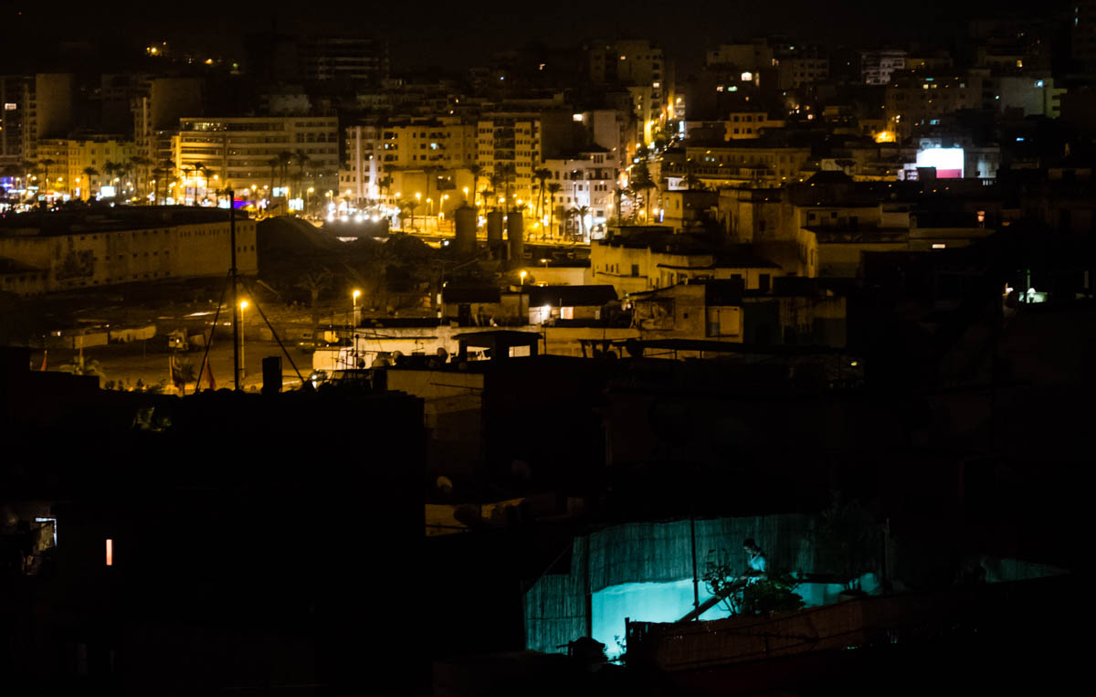 New city from the medina: Tangier, Morocco