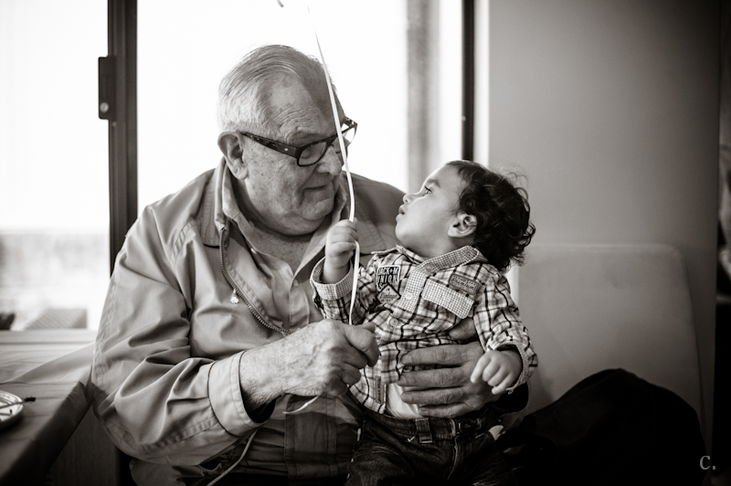 Kai and great-grandad