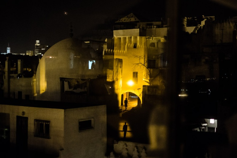 Tangier by night. Morocco, September 2013