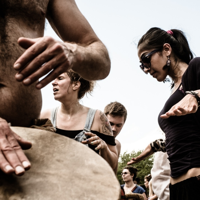 Tam-Tams at Mount Royal Park, Montreal, Canada, 2013. Fujifilm X-Pro 1, XF 35mm F1.4
