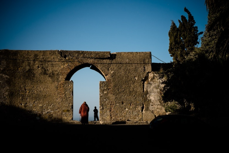 The Kasbah. Tangier, Morocco.