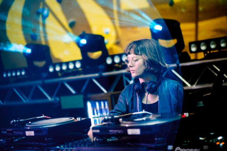 Courtesy at the decks, opening set - Red Bull Music Academy stage, Distortion Ø