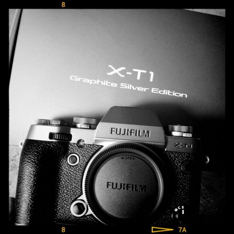 The Silver Graphite X-T1 is a thing of beauty