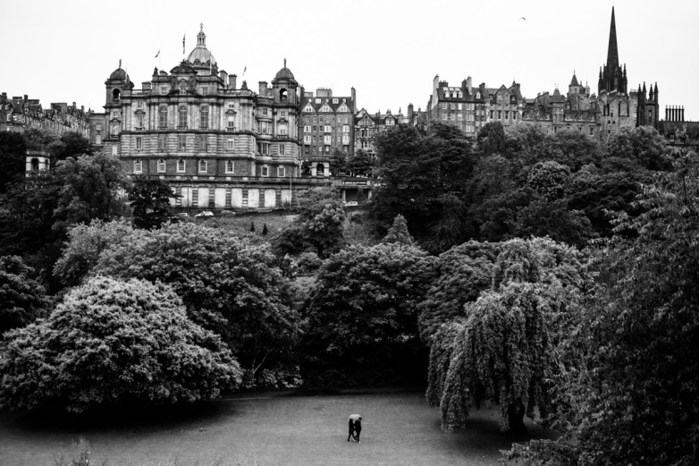 Edinburgh, Scotland. Ok I cheated with this one, because we were on foot, during what was actually a completely free day.