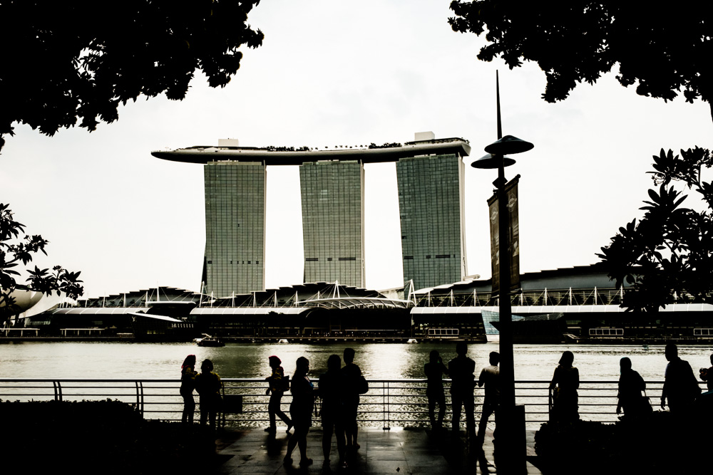Marina Bay Sands Resort and Casino by Day