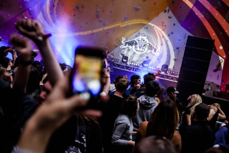 ELOQ at Red Bull Music Academy stage at Distortion Ø