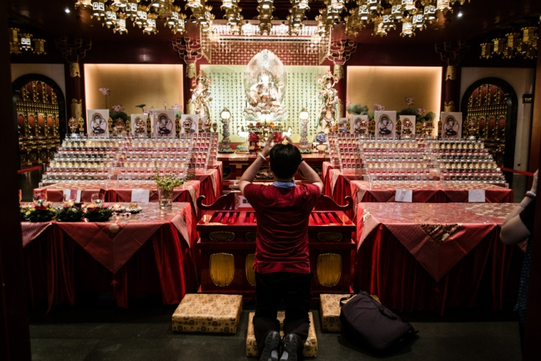 Buddha Tooth Relic Temple. Chinatown, Singapore