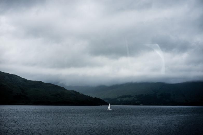 A loch. Not Ness. Scotland.