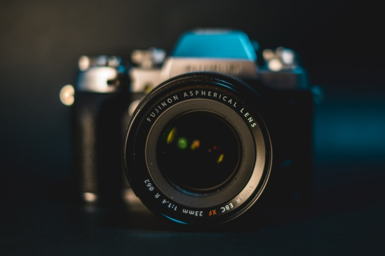 The XF 23mm f1.4 on the Silver Graphite X-T1