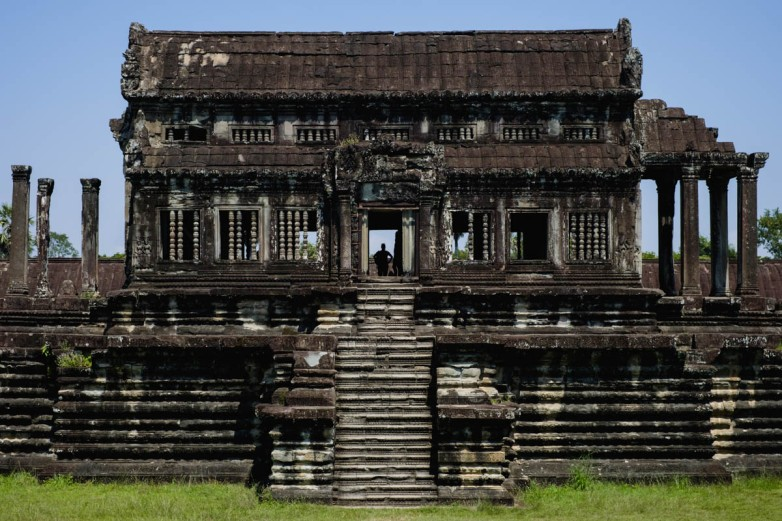 Library, Angkor Wat.