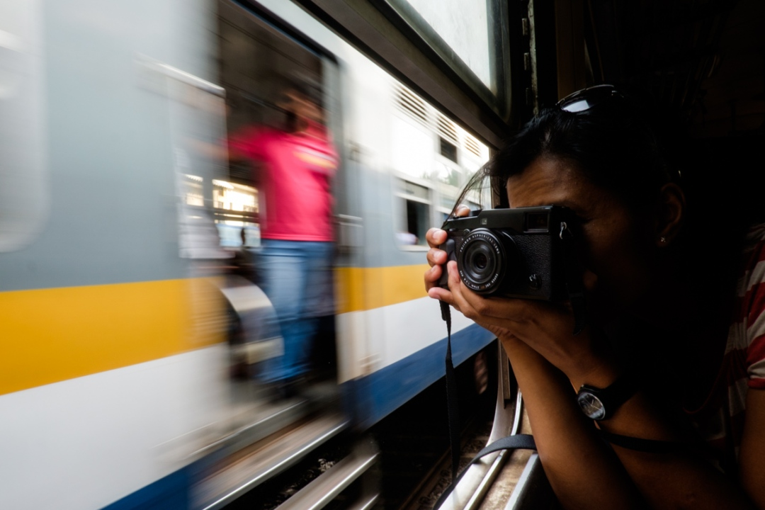 Shooting trains in Colombo with the pre-production X-Pro 2 (codename: LEO) back in November 2015   Photo: Flemming Bo Jensen