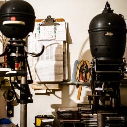 Pablo's darkroom, D.F. Mexico, 2013. Fujifilm X-Pro 1, XF 35mm F1.4