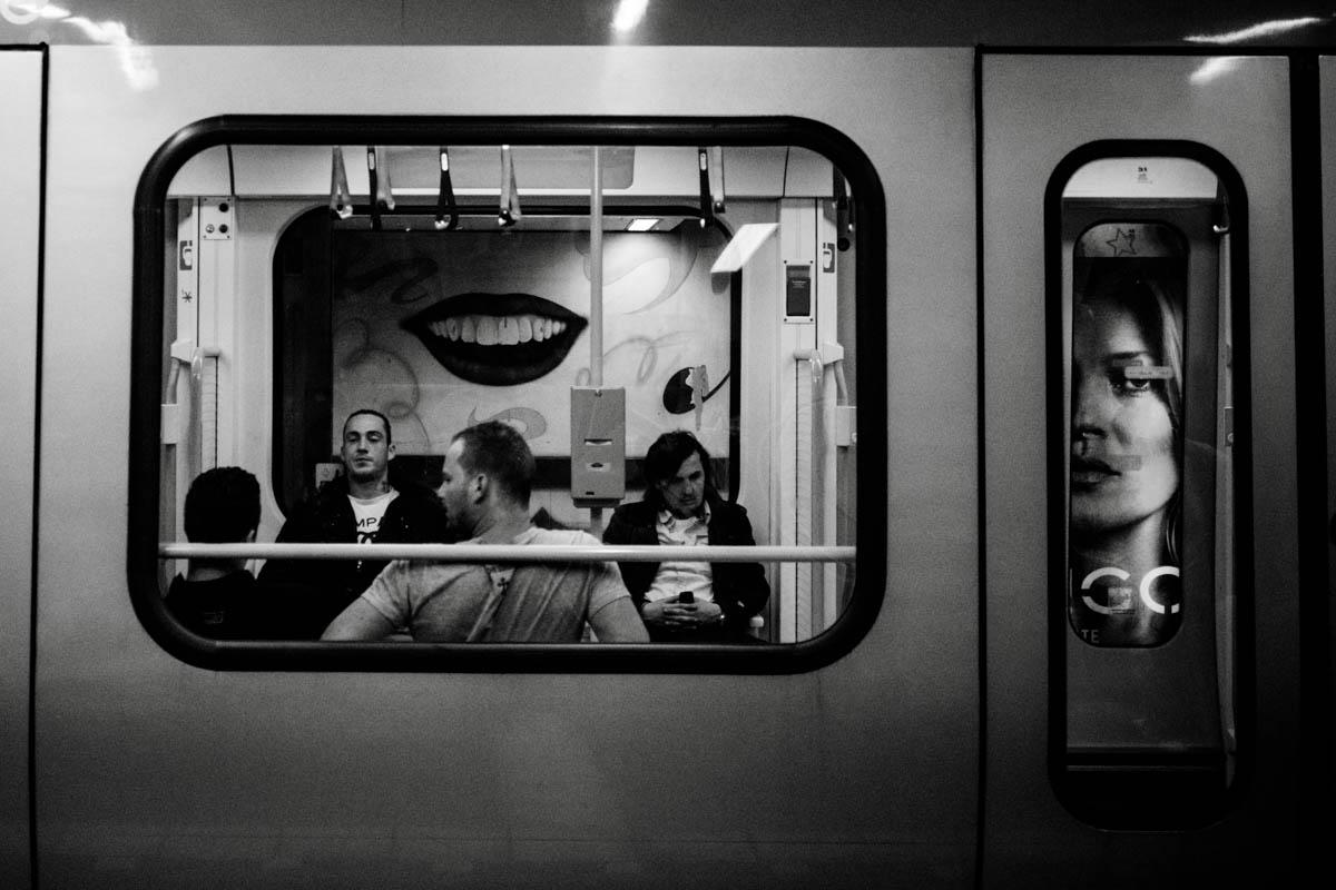 Underground metro station, Hannover, Germany